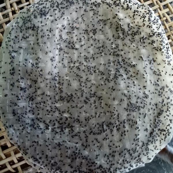 Bánh Tráng Nhúng Mè Đen
