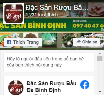 Đặc Sản Rượu Bầu Đá Bình Định